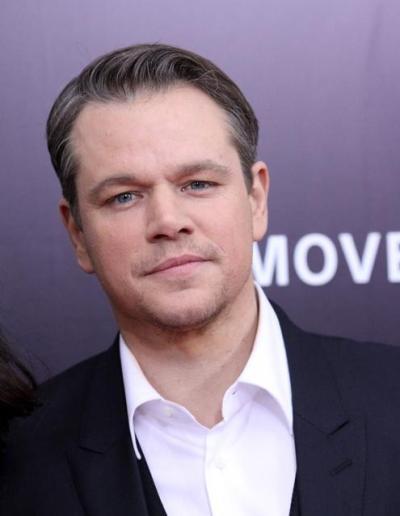 """Matt Damon protagoniza la película """"Monuments men"""" y actúa en el film por estrenar 'Interstellar""""."""