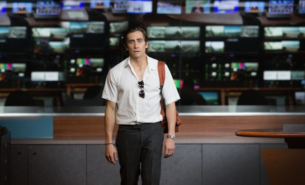 "Jake Gyllenhaal es Louis Bloom en ""Nightcrawler""."