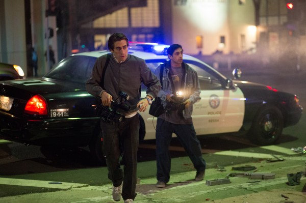 "Jake Gyllenhaal es Lou Bloom en ""Nightcrawler""."