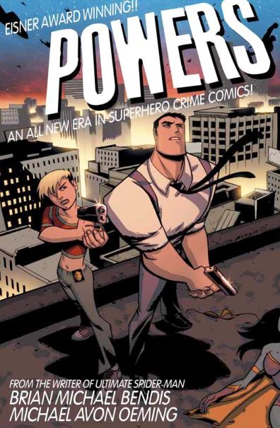 """Portada del cómic """"Powers""""."""