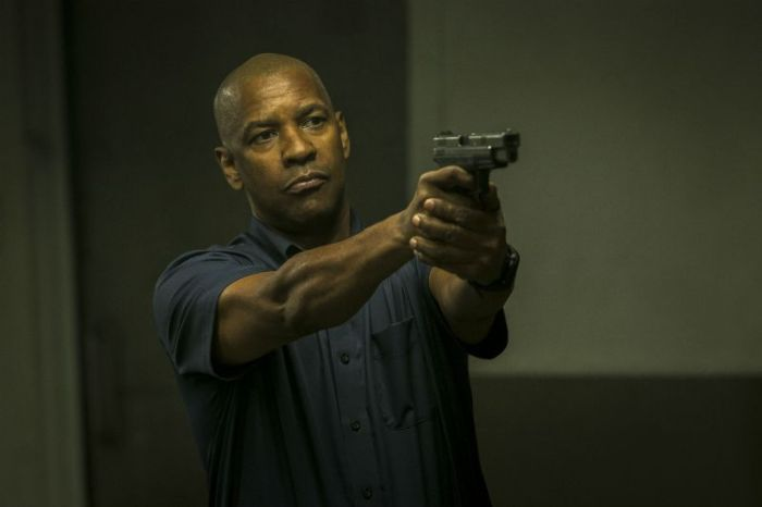"Denzel Washington en ""The Equalizer""."