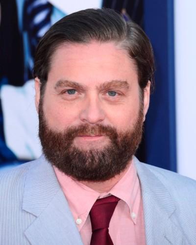 """Zach Galifianakis actúa en los filmes por estrenar """"Tulip Fever"""", """"Tulip Fever"""" y """"Loomis Fargo""""."""