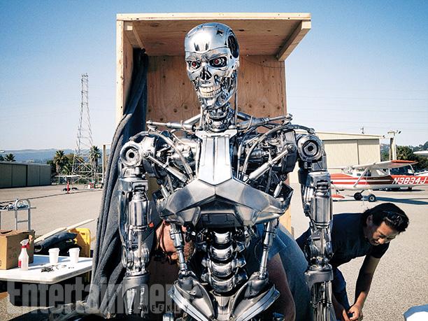 """Aspecto del exterminador T-800 de """"Terminator: Genisys""""."""