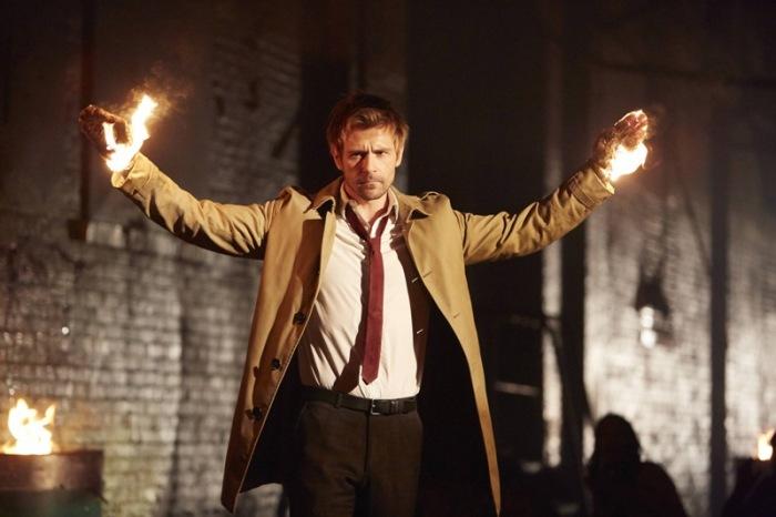 """Matt Ryan en """"Constantine""""."""