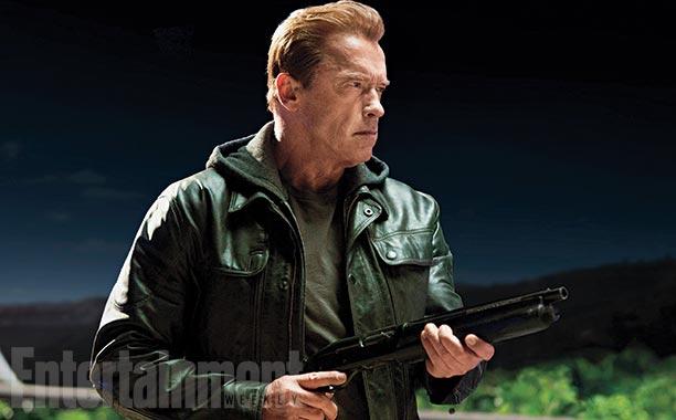 """Arnold Schwarzenegger en una escena de """"Terminator: Genisys""""."""