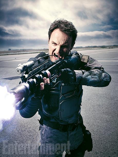 "Jason Clarke es John Connor en ""Terminator: Genisys""."