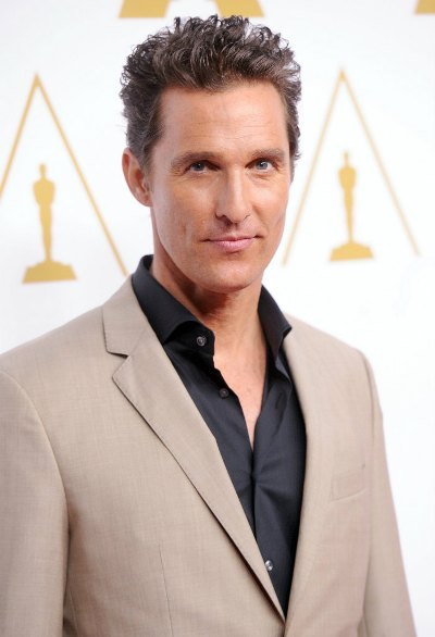 "Matthew McConaughey protagoniza las películas por estrenar ""Interstellar"" y ""The Sea of Trees""."