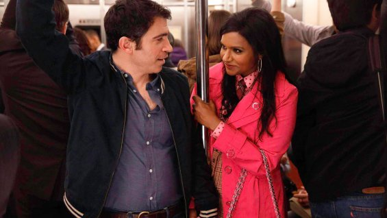"Chris Messina y Mindy Kaling en ""The Mindy Project""."