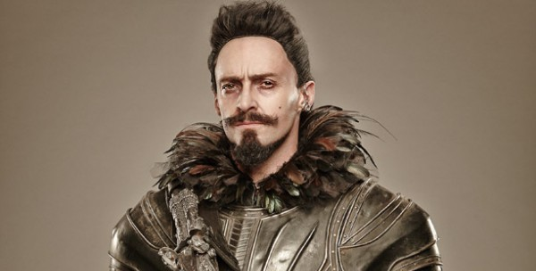 "Hugh Jackman es Blackbeard en ""Pan""."