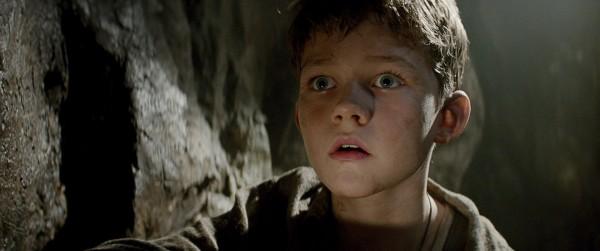 """Levi Miller es Peter Pan en """"Pan""""."""