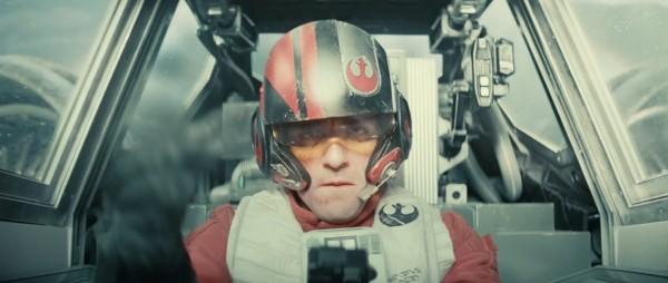"Oscar Isaac en ""Star Wars: Episode VII - The Force Awakens""."