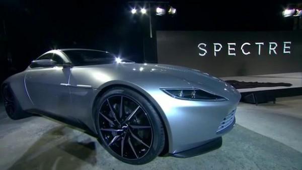 """Imagen del Aston Martin DB10 que se utilizará en """"Spectre""""."""