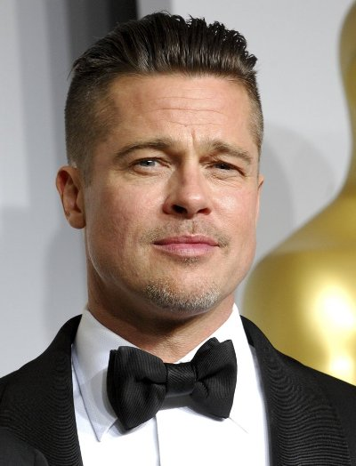 "Brad Pitt protagoniza el filme por estrenar ""By the Sea""."