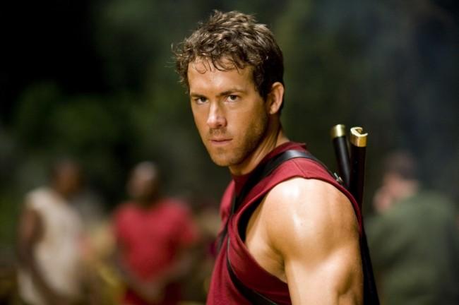 "Ryan Reynolds como Wade Wilson en ""X-Men Origins: Wolverine"" (2009)."