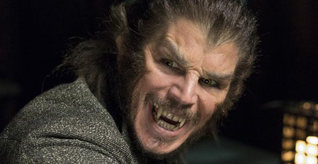 "Ethan (Josh Hartnett) como el Hombre Lobo en ""Penny Dreadful""."
