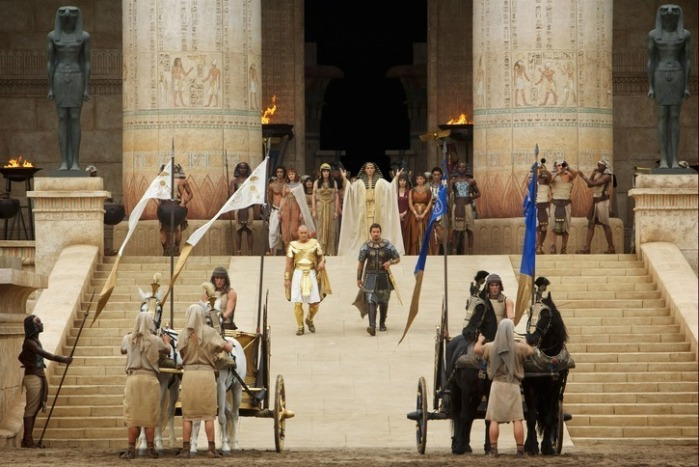 "Escena de ""Exodus: Gods and Kings""."
