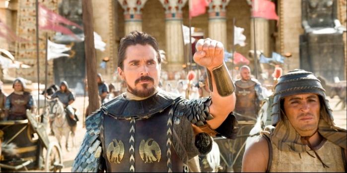 "Christian Bale en ""Exodus""."