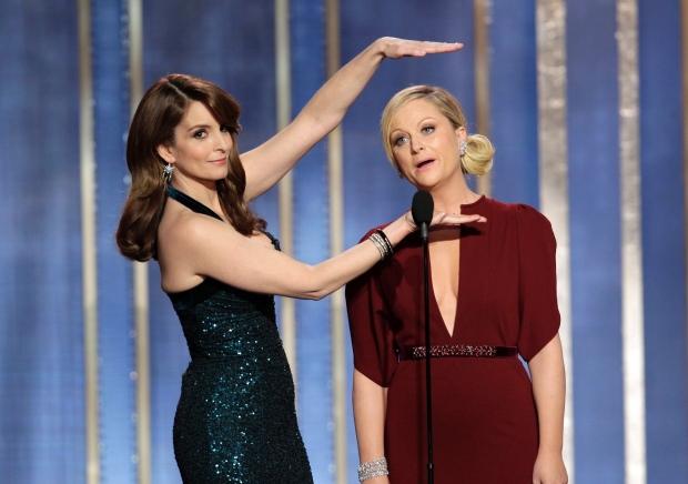 Tina Fey y Amy Poehler repiten como conductoras de los Golden Globes.