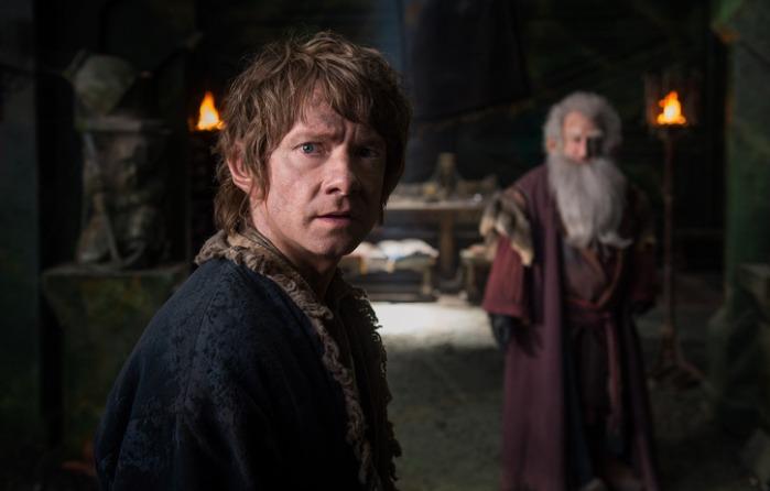 "Martin Freeman en ""The Hobbit: The Battle of the Five Armies""."