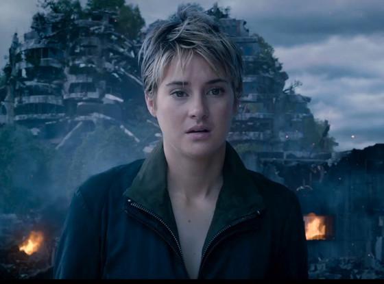 """Shailene Woodley es Beatrice 'Tris' Prior en """"Insurgent""""."""