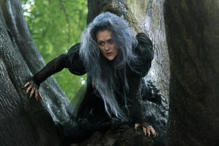 """Meryl Streep en """"Into the Woods""""."""
