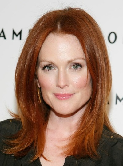"Julianne Moore actúa en el film ""The Hunger Games: Mockingjay – Part 1"" y en las películas por estrenar ""Seventh Son"", ""Freeheld"" y ""The Hunger Games: Mockingjay – Part 2""."