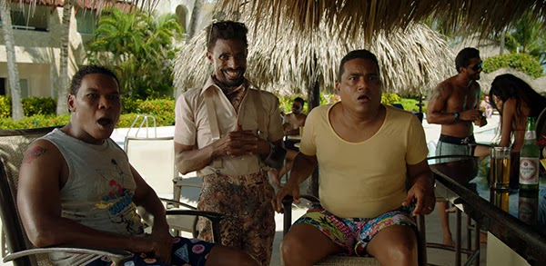 """Raymond Pozo, Fausto Mata y Miguel Céspedez en """"Lotoman 003″."""