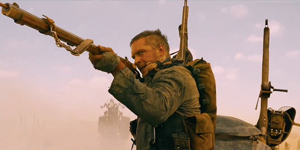 "Tom Hardy es Max en ""Mad Max: Fury Road""."