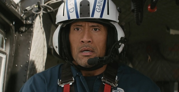 "Dwayne Johnson es Ray en ""San Andreas""."