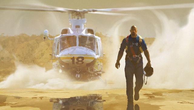 """Escena de """"San Andreas""""."""