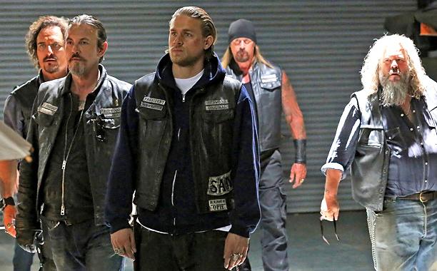 """Escena de """"Sons of Anarchy""""."""