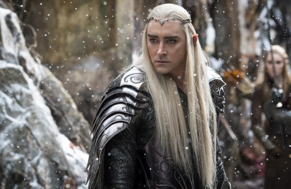 "Lee Pace como Thranduil en ""The Hobbit: The Battle of the Five Armies""."