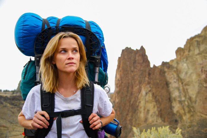 "Reese Witherspoon en ""Wild""."