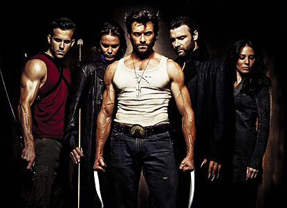 "Elenco de ""X-Men Origins: Wolverine"" (2009)."