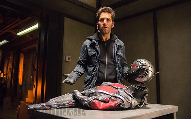 "Paul Rudd en ""Ant-Man""."