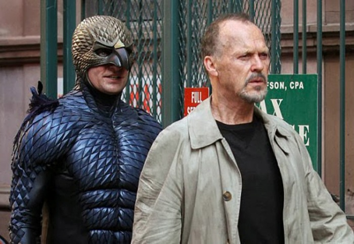 "Michael Keaton en ""Birdman""."