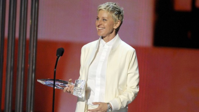 Ellen Degeneres en los People Choice Awards 2015.
