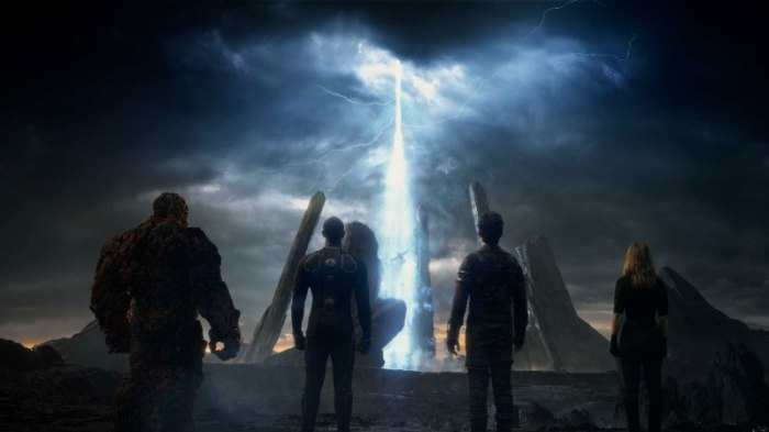 "Escena de ""The Fantastic Four""."