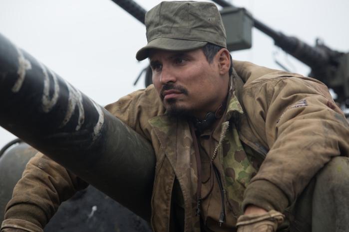 """Trini """"Gordo"""" Garcia (Michael Pena) en """"Fury""""."""