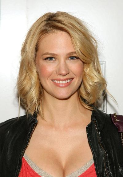 "January Jones protagoniza la serie de TV ""Mad Men""."