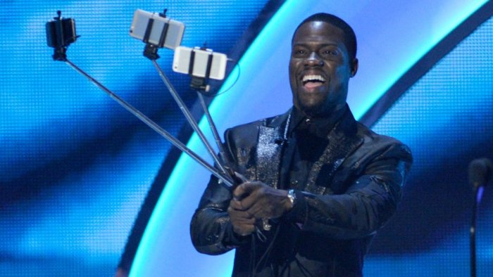 Kevin Hart en los People Choice Awards 2015.