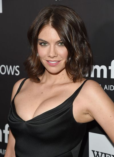 "Lauren Cohan protagoniza la serie de TV ""The Walking Dead""."