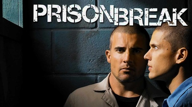 "Dominic Purcell y Wentwonth Miller protagonizaron ""Prison Break"" (2005 – 2009)."