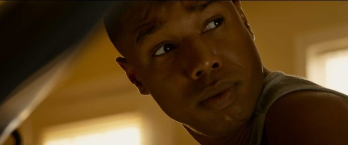 "Michael B. Jordan en ""The Fantastic Four""."