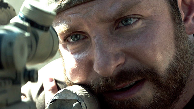 "Bradley Cooper en ""American Sniper""."
