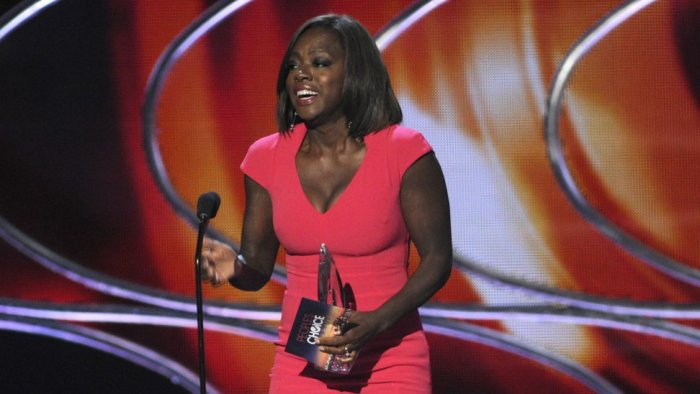 Viola Davis en los People Choice Awards 2015.