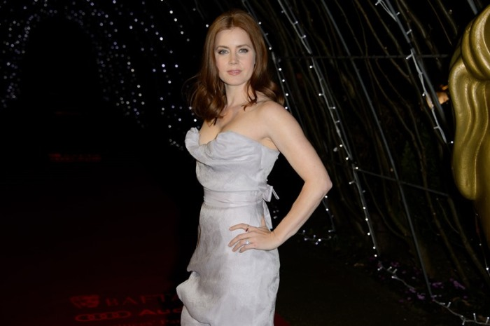 Amy Adams en la fiesta de nominados de los BAFTA Awards 2015.