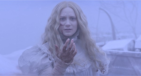 "Mia Wasikowska es Edith Cushing en ""Crimson Peak""."