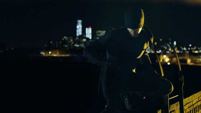 "Escena de la serie de Netflix ""Daredevil""."