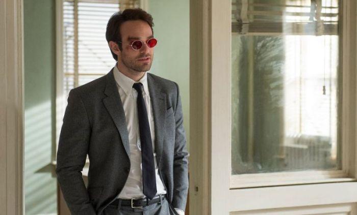 "Charlie Cox en ""Daredevil""."